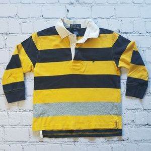Polo Ralph Lauren Striped Long Sleeve Shirt Sz 5